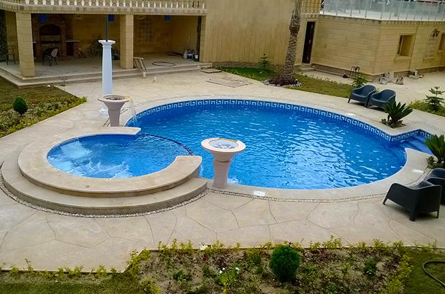 حمام سباحة بالتجمع الخامس